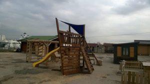 Многофункциональный детский городок