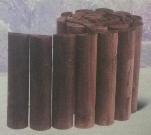 бордюрная лента из ригеля деревянного с пропиткой