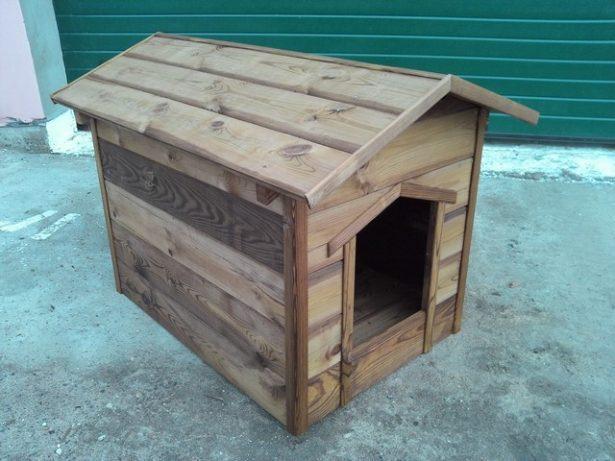 Готовые изделия из дерева Будка для собаки