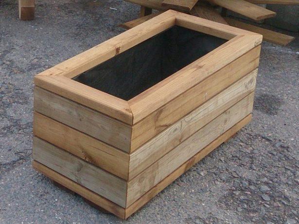 Готовые изделия из дерева Цветочница деревянная цена