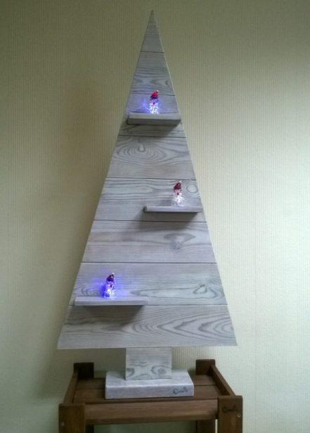 елочка из дерева