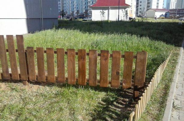 Заборы и ворота: Мини-забор