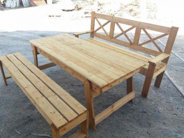 набор мебели с раскладным столом