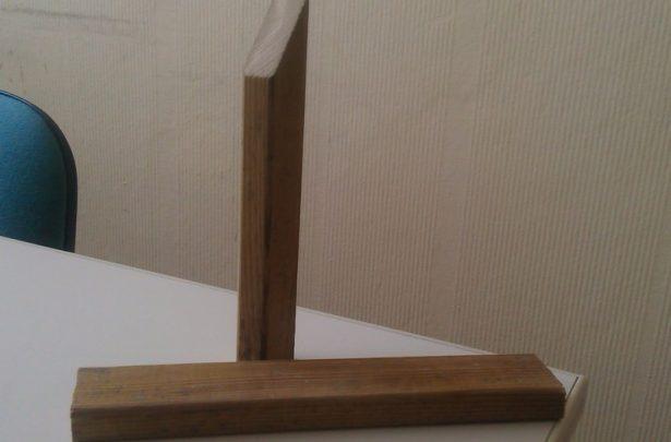 Образцы пиломатериалов: рейка деревянная строганая