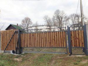 Заборы и ворота с пропиткой