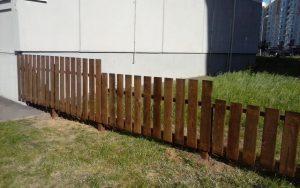 Забор из доски 20х120