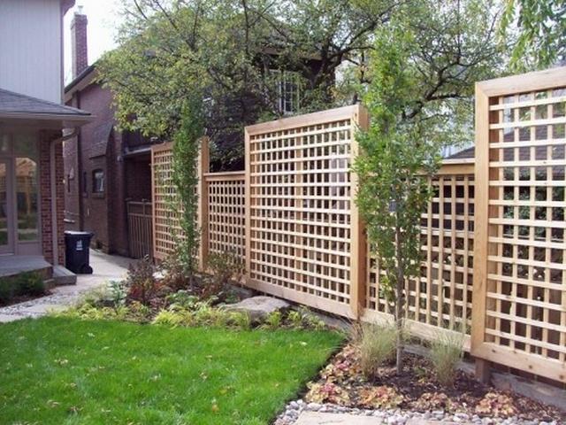 забор панели-решетка