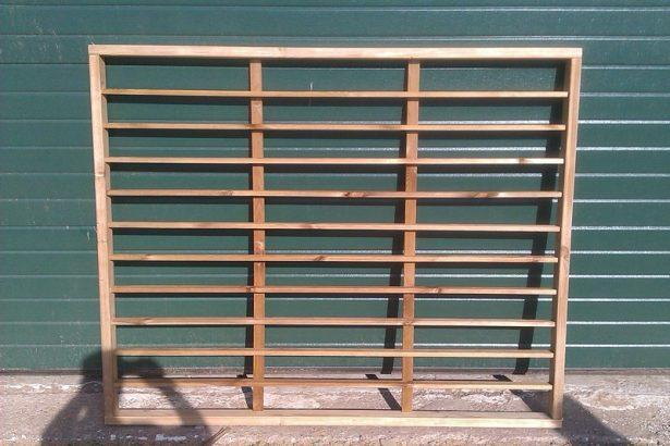 забор-решетка готовая секция