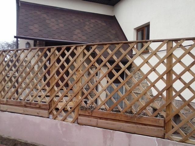 забор-шпалера